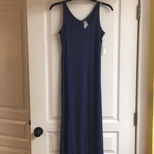 Old Navy Sleeve Less Maxi Dress, NWT.